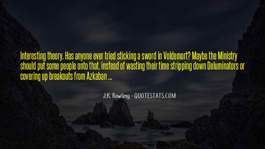 Quotes About Voldemort #1588208