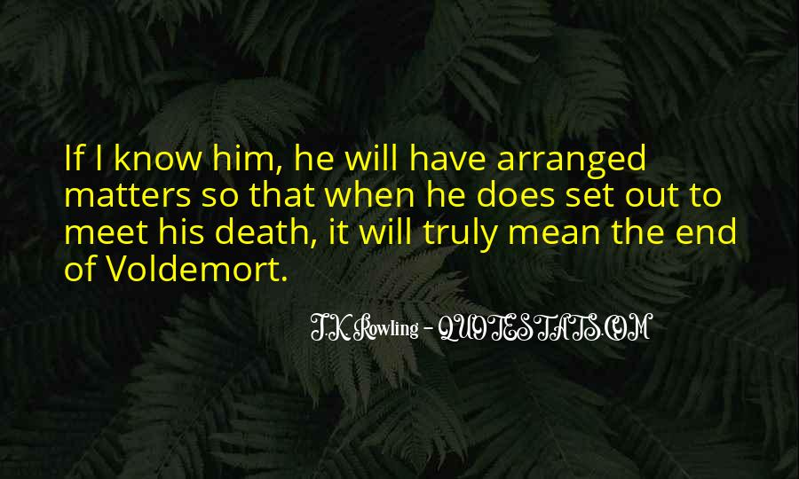 Quotes About Voldemort #1597068