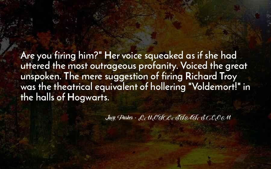 Quotes About Voldemort #1619223