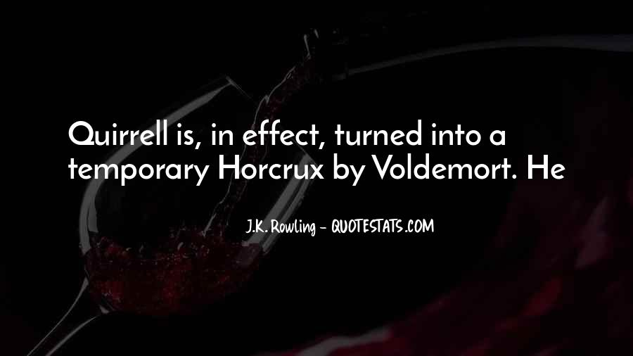 Quotes About Voldemort #177215