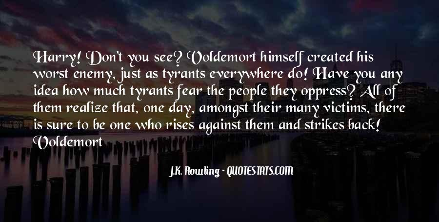 Quotes About Voldemort #1822747