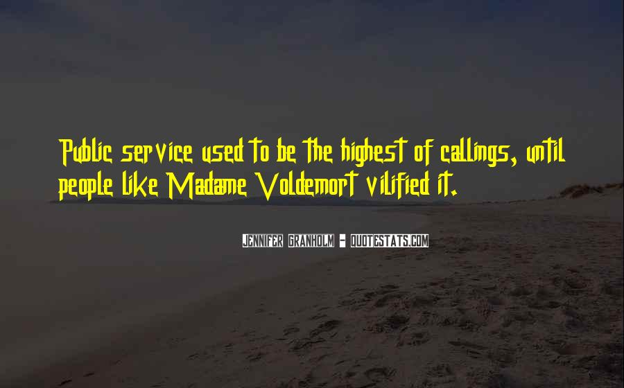 Quotes About Voldemort #517790