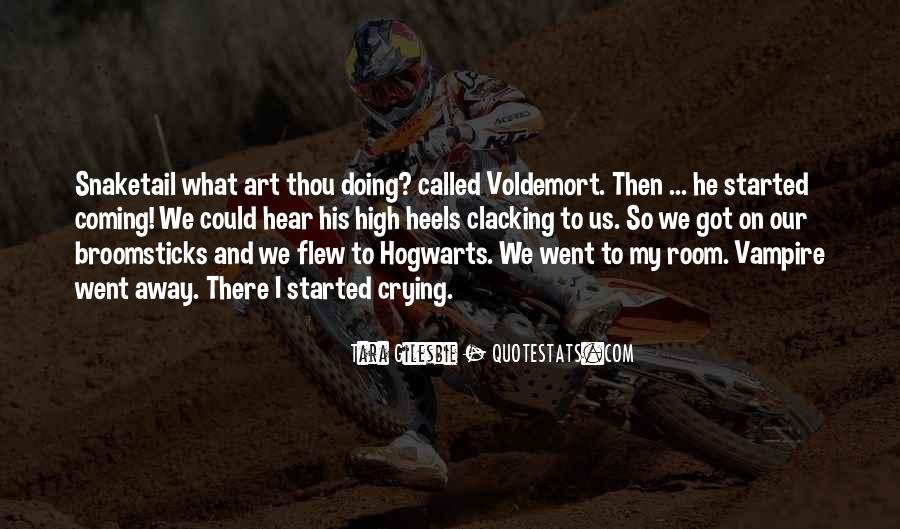 Quotes About Voldemort #756511