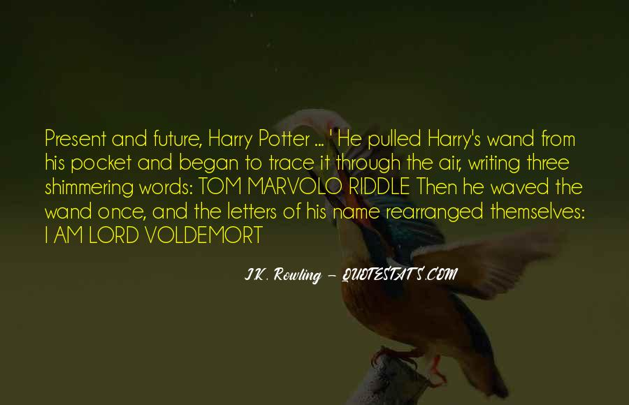 Quotes About Voldemort #953944