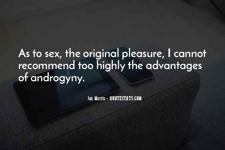 Quotes About Androgyny #113044
