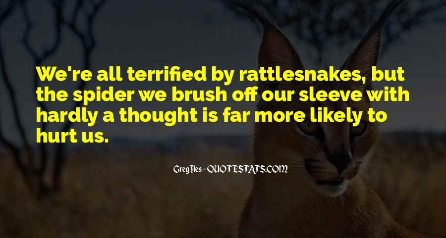 Quotes About Rattlesnakes #1319681