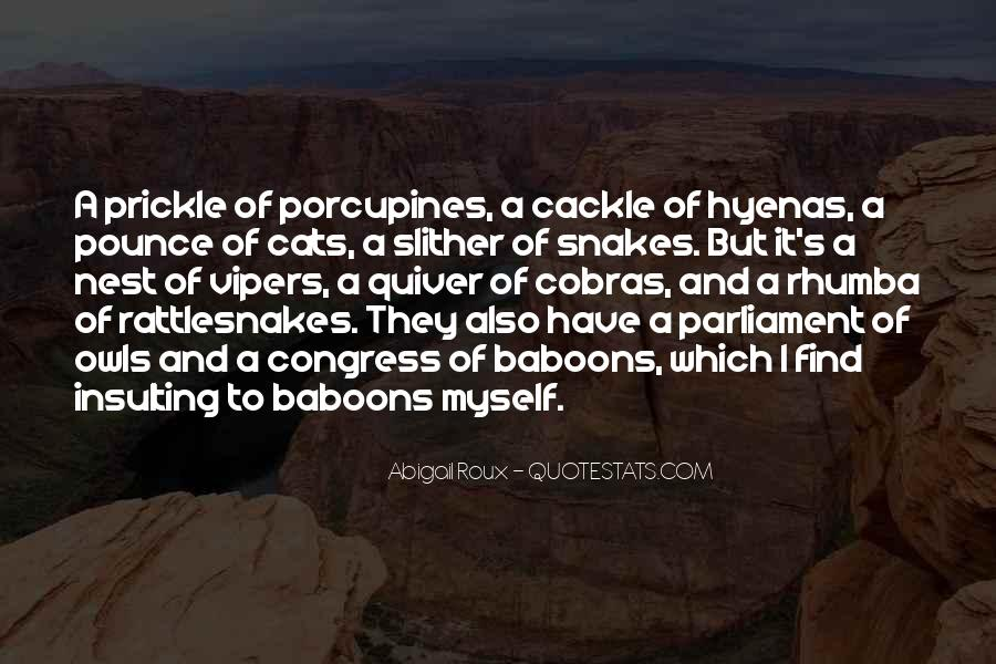 Quotes About Rattlesnakes #472576