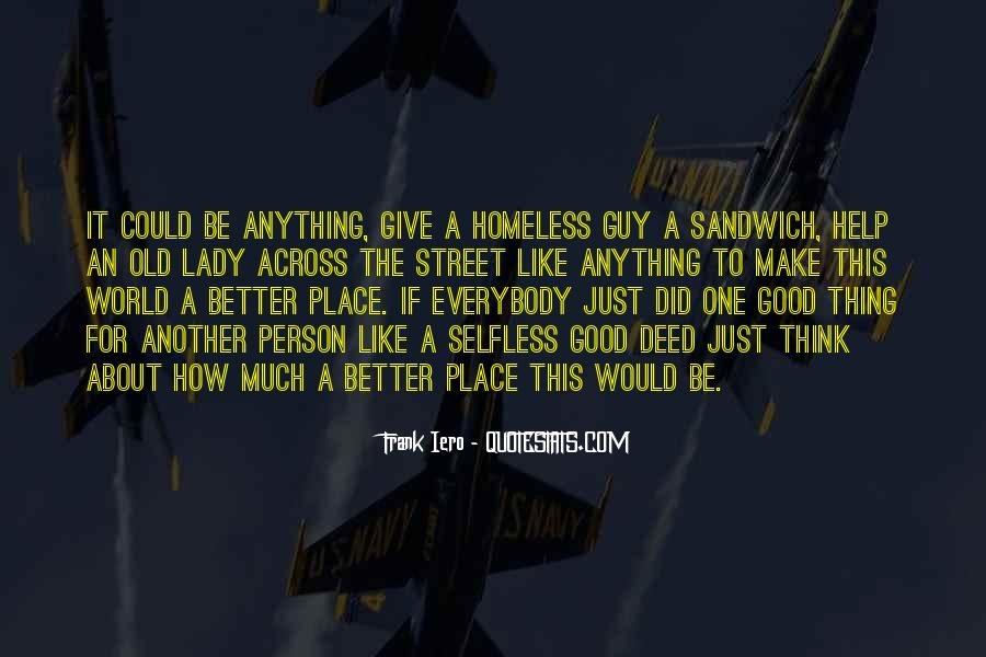 Quotes About How To Be A Good Person #95110