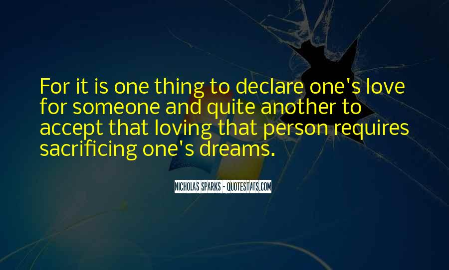 Quotes About Sacrificing For Someone You Love #1211241