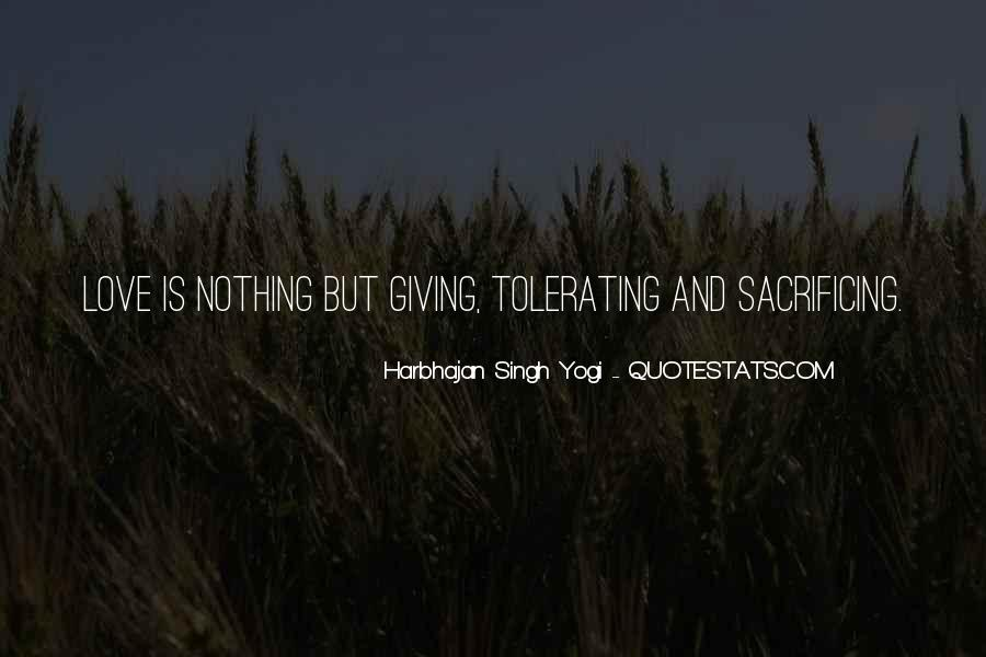Quotes About Sacrificing For Someone You Love #850890