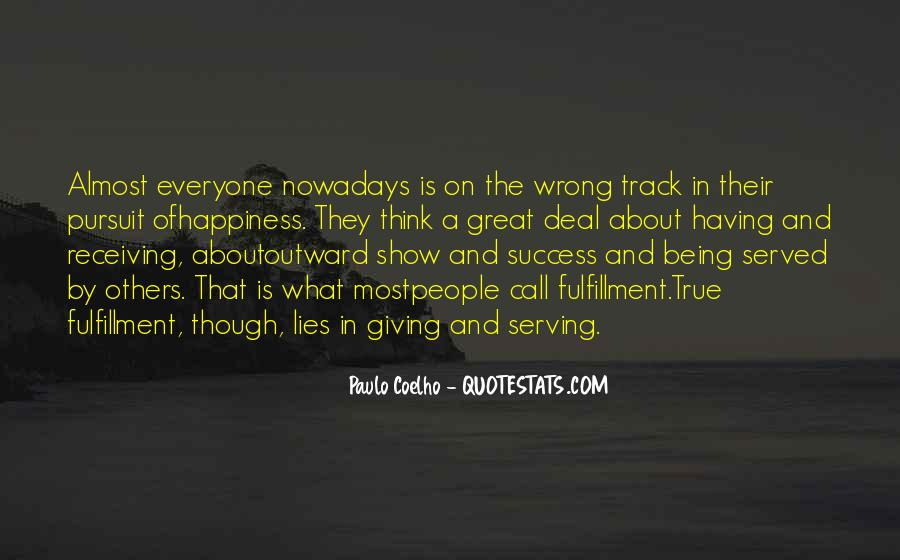 Quotes About Track #66497