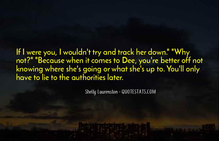 Quotes About Track #85191