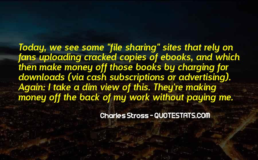 Quotes About Making Cash #1301820