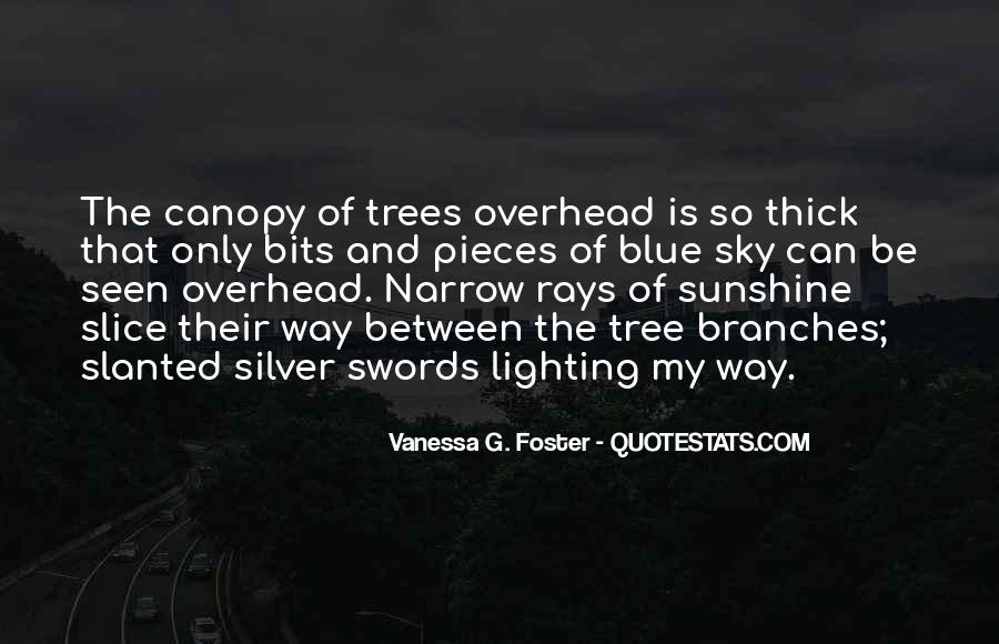 Quotes About Tree Canopy #1070741