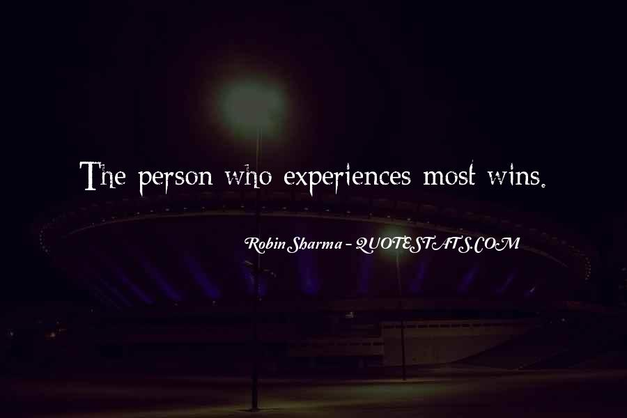 Quotes About Experience #108