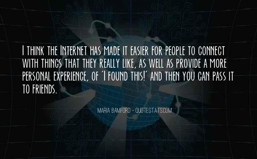Quotes About Experience #2592