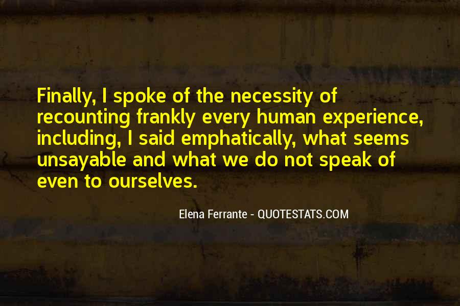 Quotes About Experience #2963