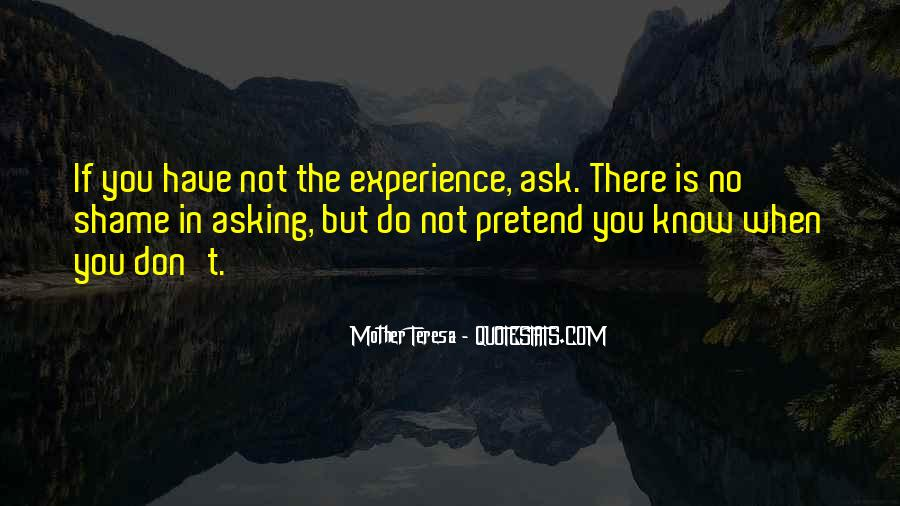 Quotes About Experience #2993
