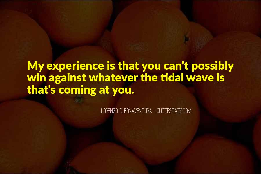Quotes About Experience #6871