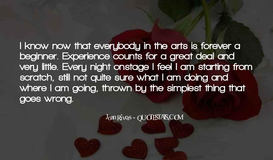 Quotes About Experience #7046