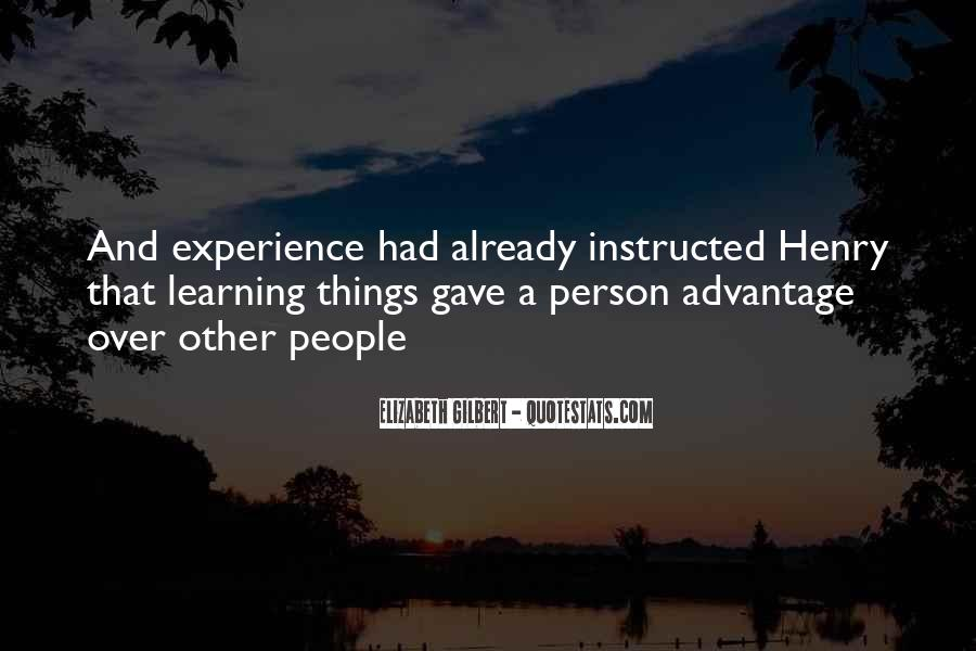 Quotes About Experience #7490