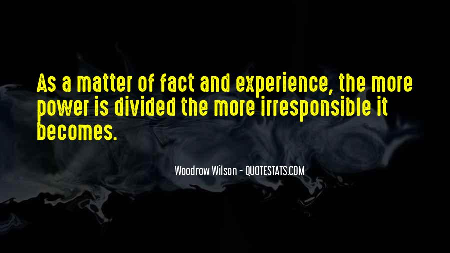 Quotes About Experience #905