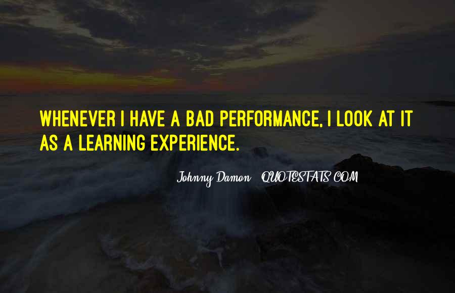 Quotes About Experience #9425