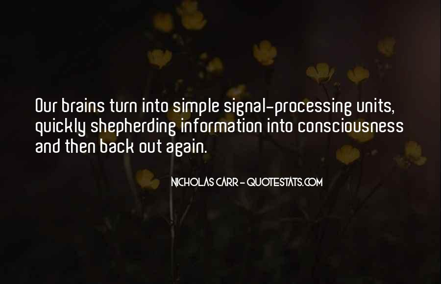Quotes About Signal Processing #1092916