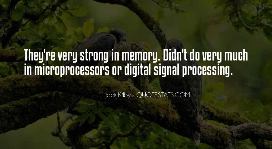 Quotes About Signal Processing #79968