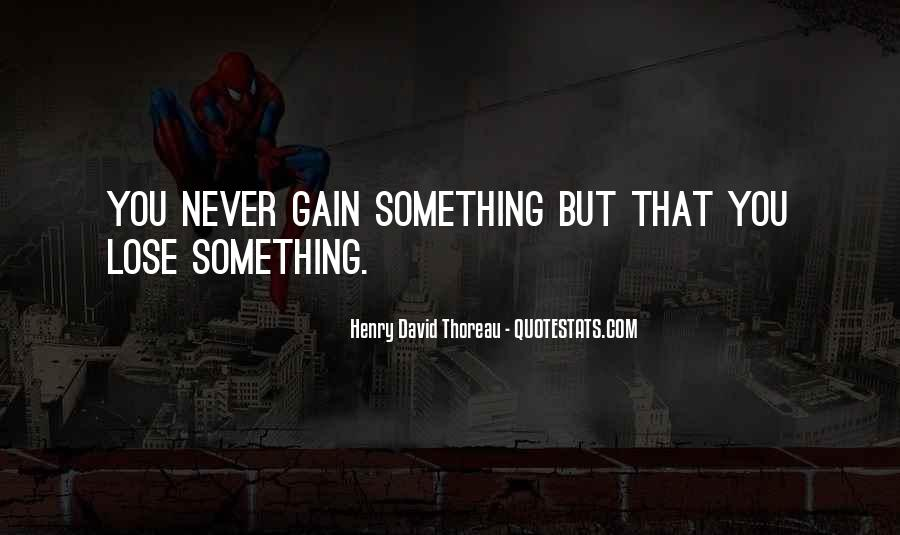 Quotes About Gains #99569