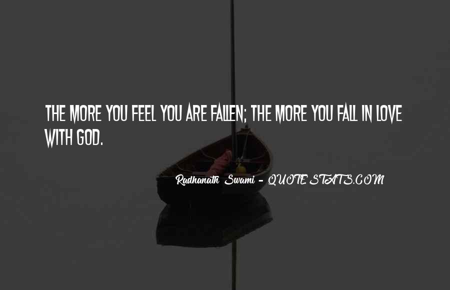 Quotes About Falling In Love With God #106705