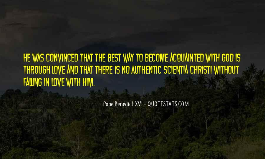 Quotes About Falling In Love With God #1484194
