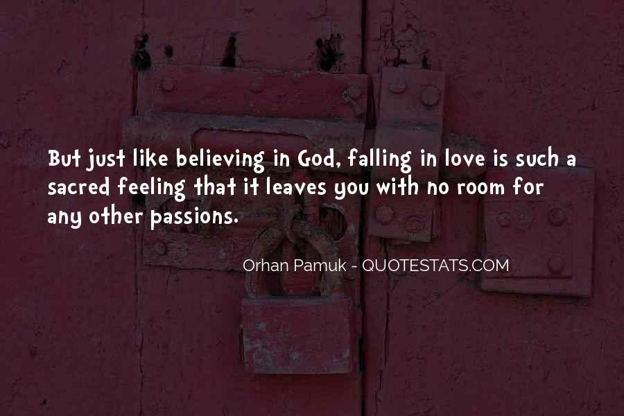Quotes About Falling In Love With God #1494557