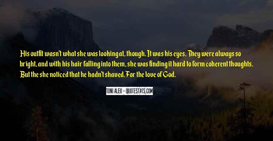 Quotes About Falling In Love With God #1862762
