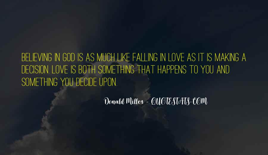 Quotes About Falling In Love With God #333502