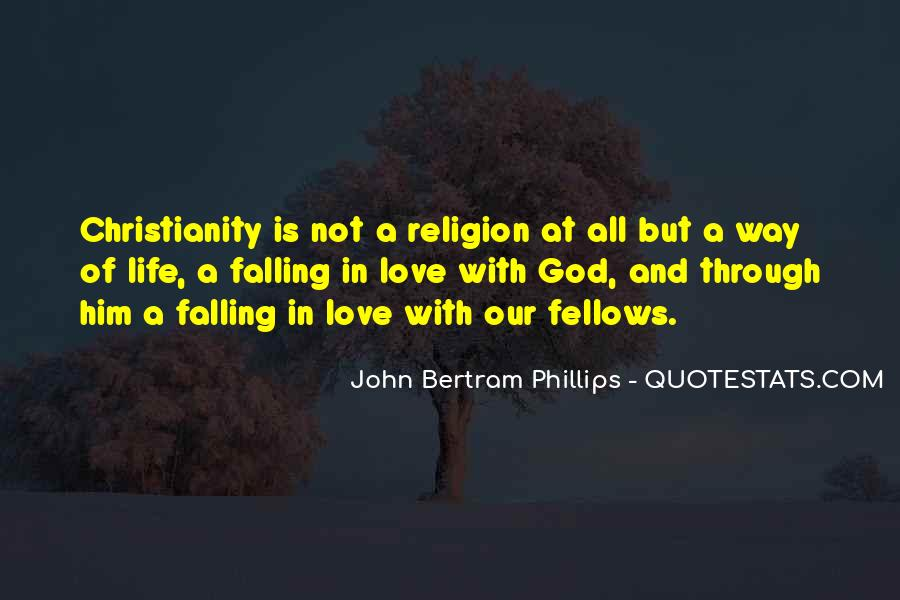 Quotes About Falling In Love With God #843912