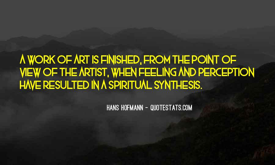 Quotes About Perception Of Art #13524