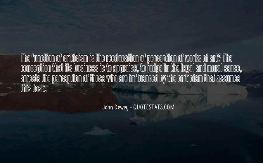 Quotes About Perception Of Art #1435359