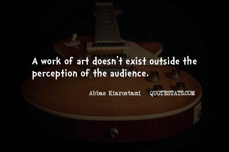 Quotes About Perception Of Art #1753299