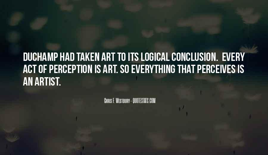 Quotes About Perception Of Art #359635