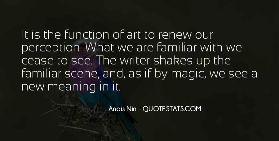 Quotes About Perception Of Art #480915