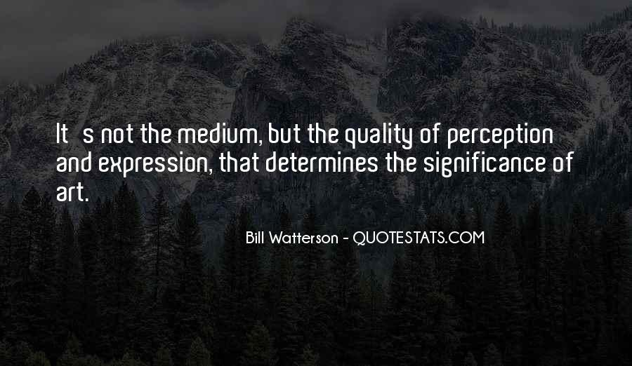 Quotes About Perception Of Art #734819