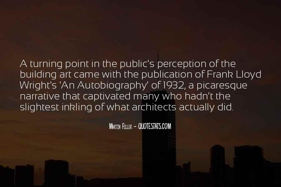 Quotes About Perception Of Art #834351