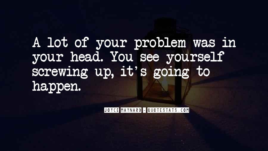 Quotes About Someone Screwing You Over #13891