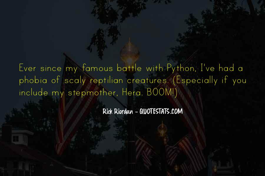 Quotes About Python #1222170