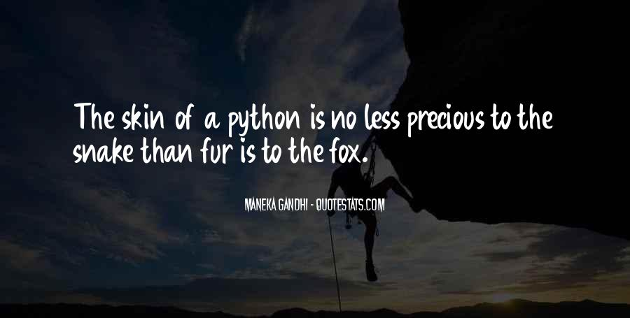 Quotes About Python #1331827