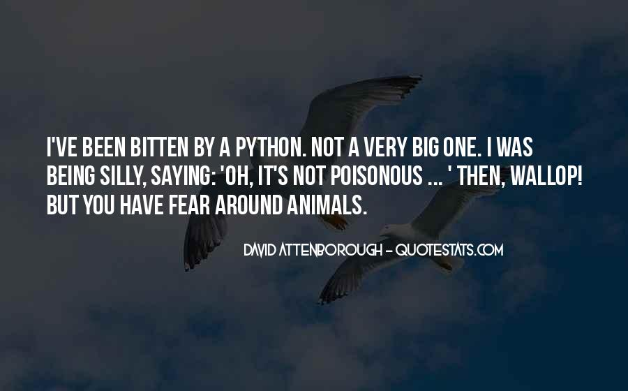Quotes About Python #821129