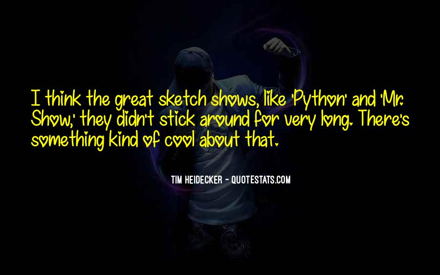 Quotes About Python #887794