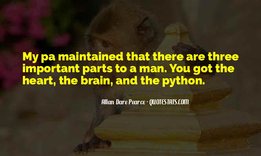 Quotes About Python #903114