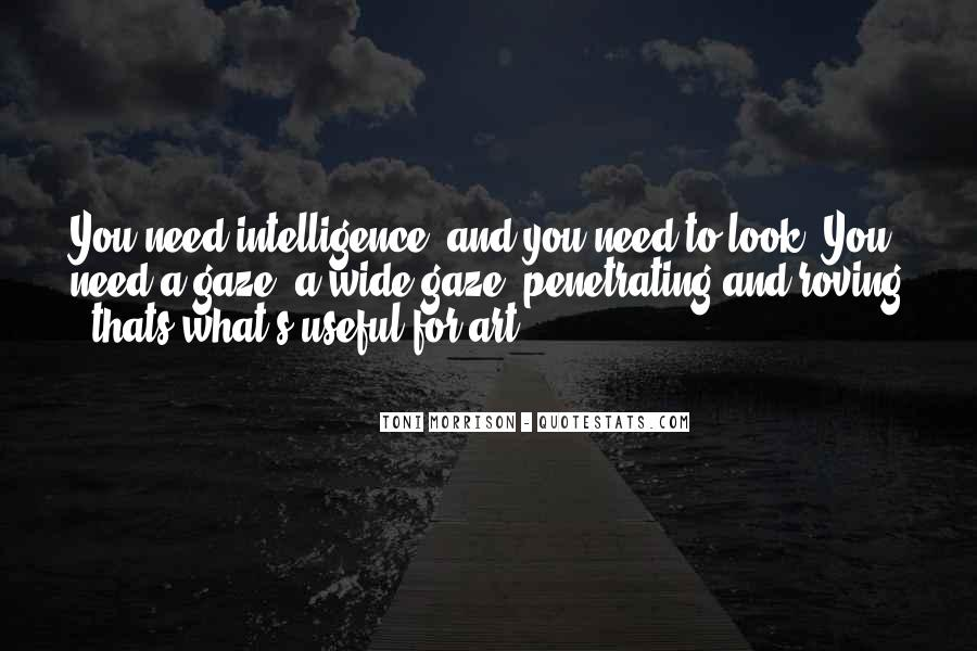 Quotes About Looks And Intelligence #112890